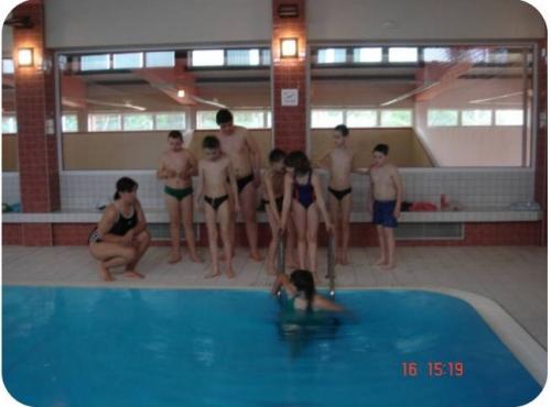 Aquaterapie skupinová