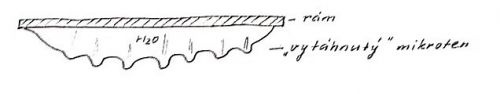 Pružnost mikrotenového obalu