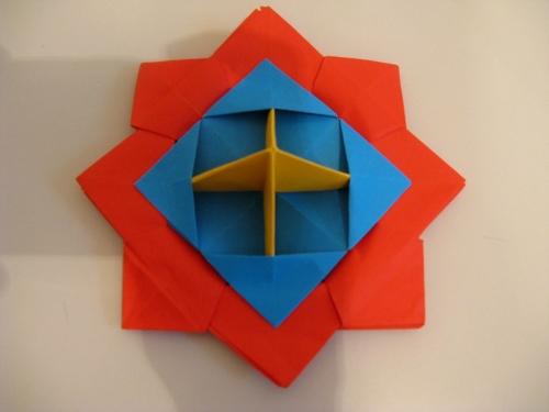 Origami káča
