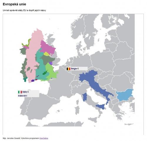 Ukázka č.2 - Evropská unie