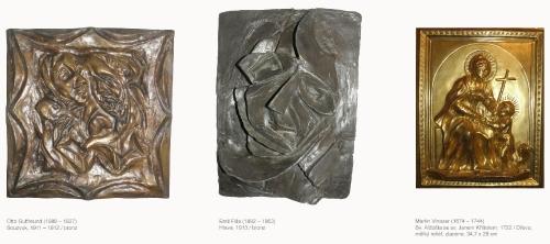 Rozhovory s obrazy/Otto Gutfreund a Emil Filla a Martin Vinazer/Moravská galerie v Brně