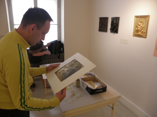 Rozhovory s obrazy/Otto Gutfreund a Emil Filla a Martin Vinazer