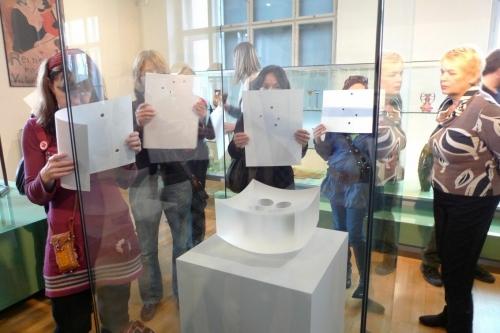 Rozhovory s obrazy/galerie jako otevřený prostor inspirace / František Vízner a Otto Prutscher