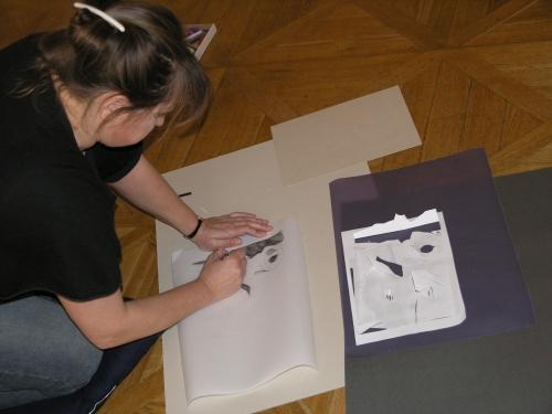 Rozhovory s obrazy/Emil Filla, výtvarná interpretace