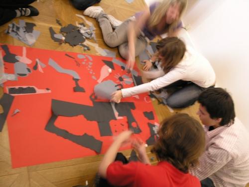 Výukový program v Moravské galerri v Brně/Emil Filla, výtvarná interpretace