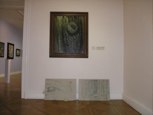 Rozhovory s obrazy/galerie jako otevřený prostor inspirace/Emilia Medková a Toyen