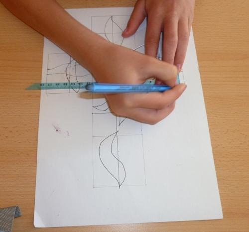 Tvoření na síti krychle