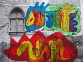 Graffiti na imaginární zdi