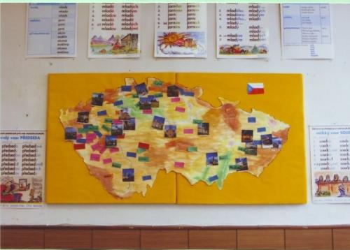Společná mapa - nástěnka