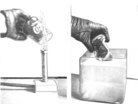 Rozmačkání plechovky tlakem vzduchu
