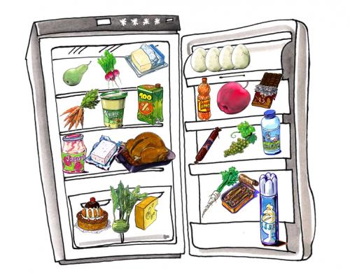 Víte, které potraviny jsou uskladněny správně?