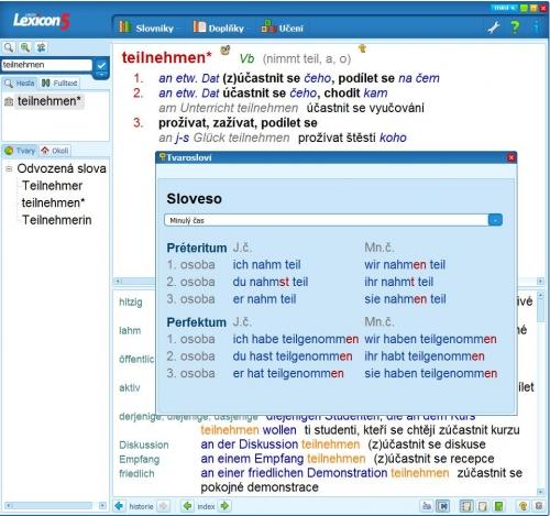 německý slovník lexicon 5