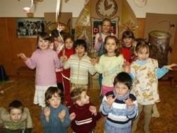 Fotografie dětí z Mateřské školy v Aši. Foto Jana Růžičková.