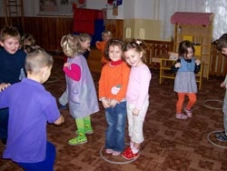 Fotografie dětí z Mateřské školy v Hajnici. Foto Mgr. Martina Švorcová.