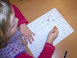 Pracovní listy - Děti pilné jako včeličky.