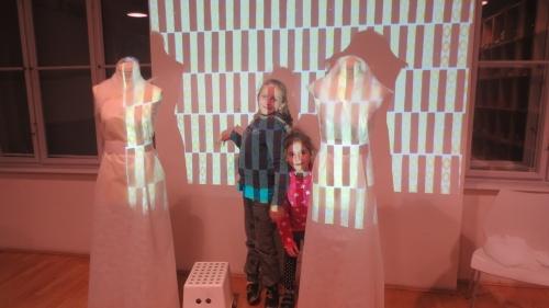 silueta vs. dekor / výtvarná etuda k workshopu pro SŠ