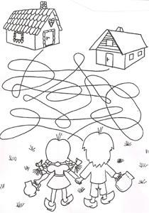 Pracovní listy z časopisu Pastelka