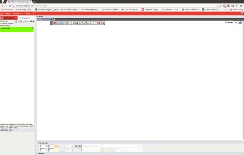 ukázka webinářového protředí OpenMeetings