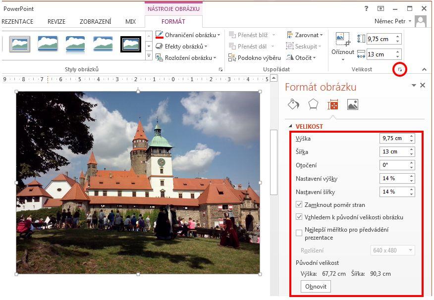 online prezentace vlastní prezentace