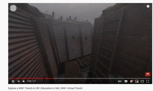 Virtuální realita bojiště americké občanské války