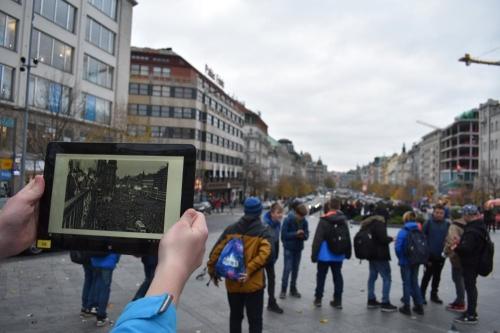 Hledání míst paměti našeho města přímo v terénu