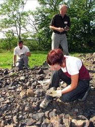 Sběr mineralogických vzorků