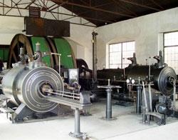 Technická památka  parní těžní stroj dolu Anna