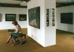 Pohled do expozice V. Rabase