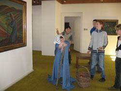 Žáci domýšlí příběh obrazu