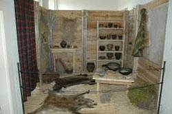Rekonstrukce keltské obytné místnosti