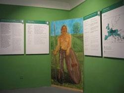 Pohled do expozice Keltové na Rakovnicku