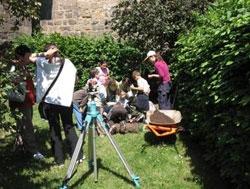 Muzeum na dvoře - ukázka práce archeologů