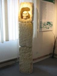 Pohled do expozice Knech eltové na Rakovnicku