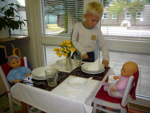 Stůl v restauraci