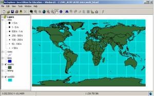 Příklad mapového výkresu