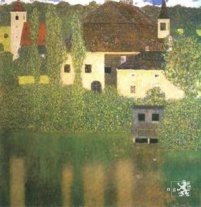 G. Klimt  -  Vodní zámek