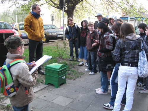 Exkurze ke komunitnímu kompostéru