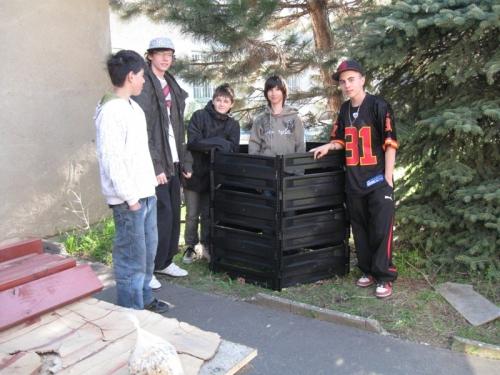 U kompostéru