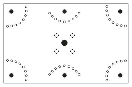 rozmístění hráčů (obr. autor)