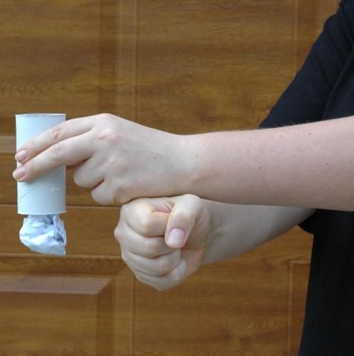 Poklepávání na ruku zdola - výsledek