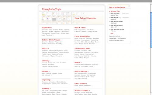 Příklady funkcí upořádaných dle kategorií